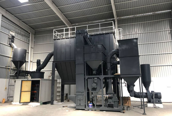 Ultrafine Powder Milling Plant