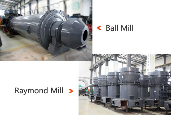 Ball Mill VS Raymond Mill