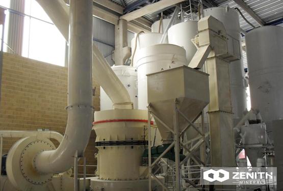 ZENITH LM Vertical Roller Mill Advantage