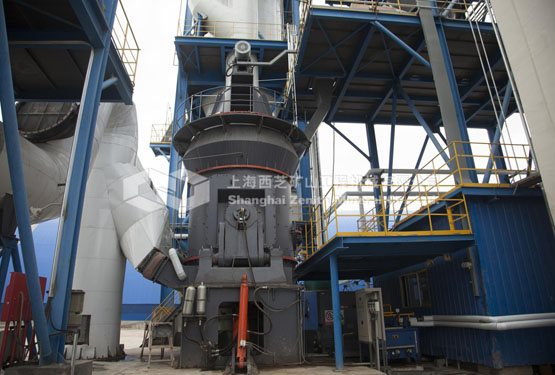 Vertical Roller Mill of Slag and Steel Slag Used in Metallurgical Industry
