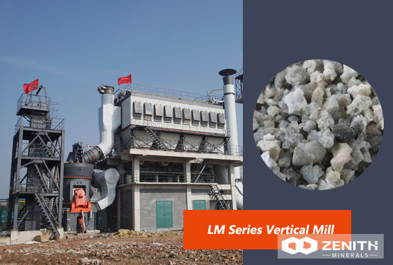Application Of Vertical Mill In Slag Powder Production Line