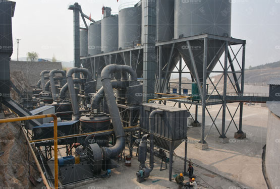LUM Ultrafine Vertical Mill For Calcite Processing Production