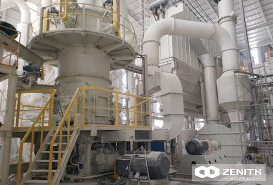 Ultrafine Vertical Mill For Talc Grinding Process