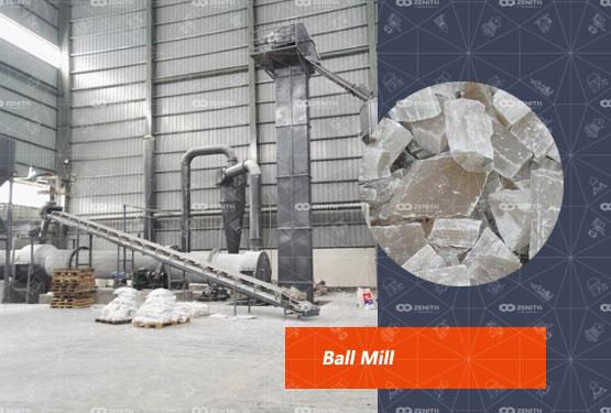 Gypsum Powder Production Line In Turkey